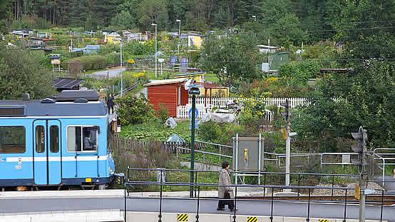 Hägernäs Station - Gröna Hägern